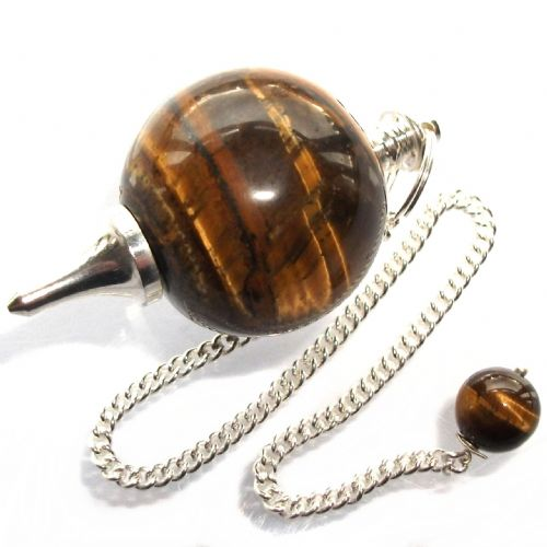Tiger Eye Ball Divination Pendulum